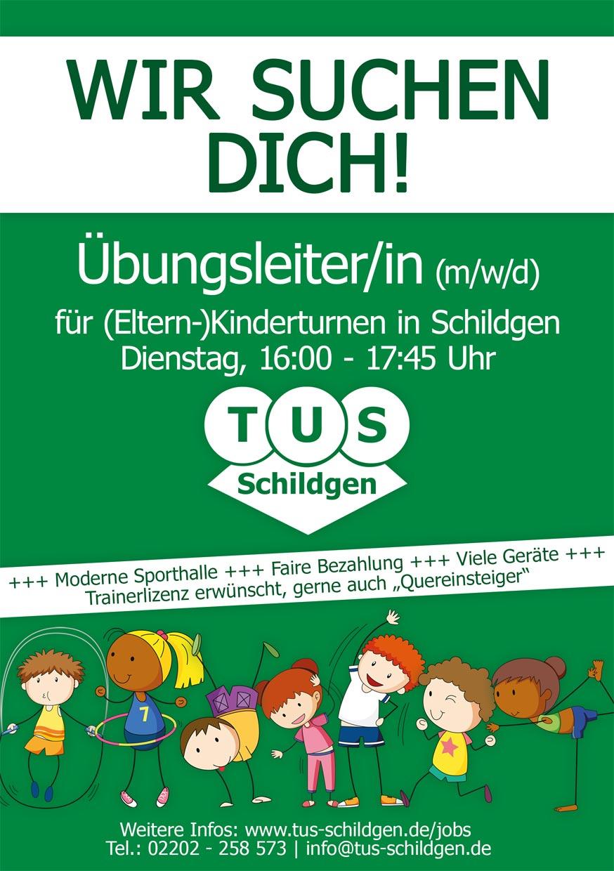You are currently viewing Gesucht: Übungsleiter/in (m/w/d) für (Eltern-)Kinderturnen – Dienstag in Schildgen