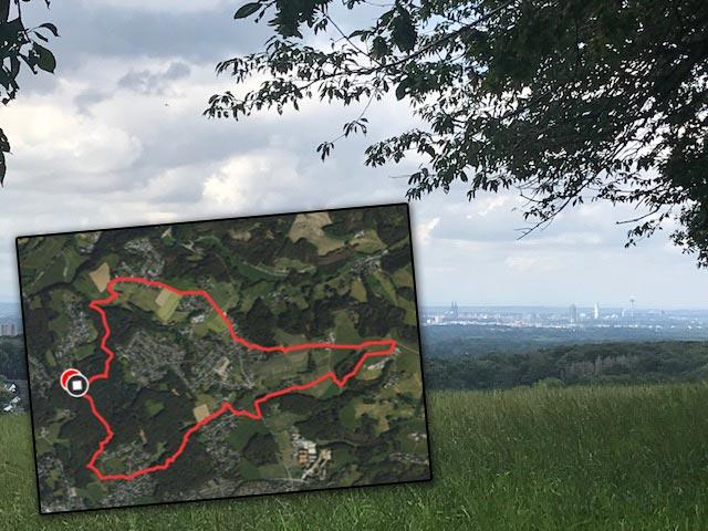 You are currently viewing Wandertag am 22.08.2021 & Küchenberg, Oberborsbach und Nussbaum