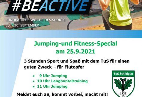 #BeActive Deutschland – der TuS ist wieder dabei!