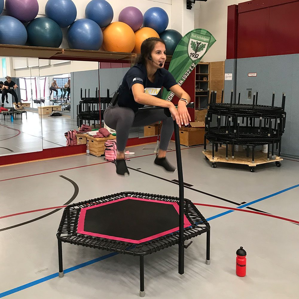 Read more about the article Neuer Jumping Fitness-Kurs: Mittwochs von 18:00 – 19:00 Uhr