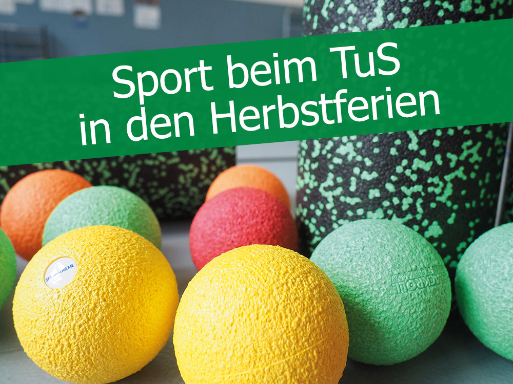 Read more about the article Sport beim TuS in den Herbstferien