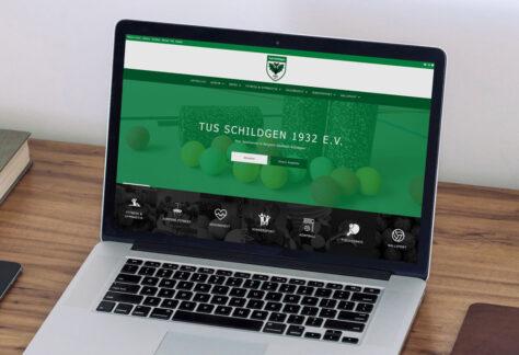 Der TuS Schildgen hat eine neue Website