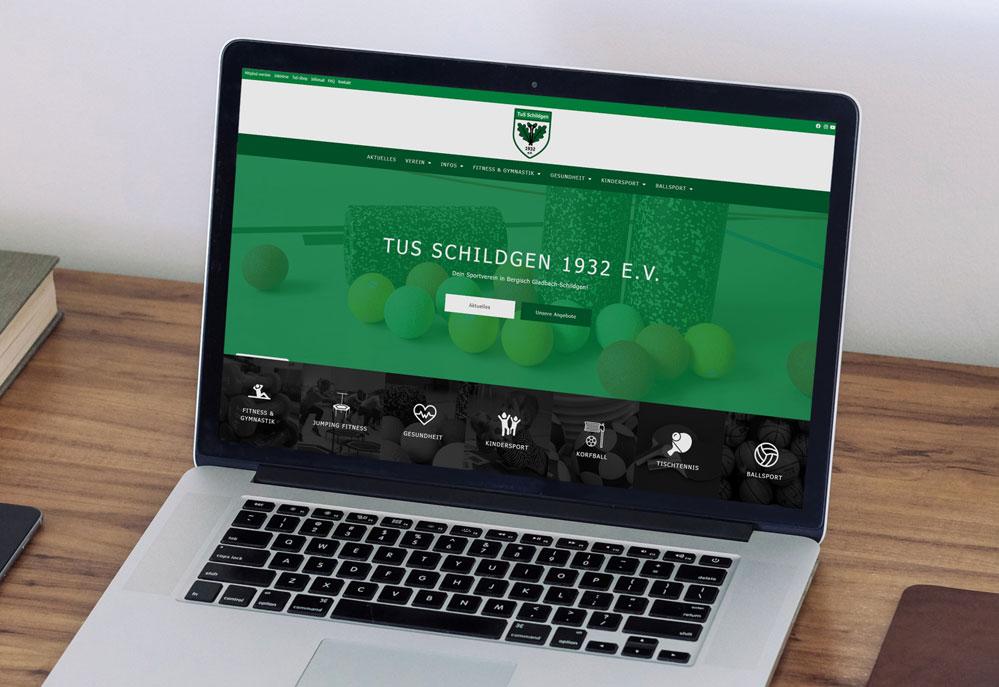 Read more about the article Der TuS Schildgen hat eine neue Website